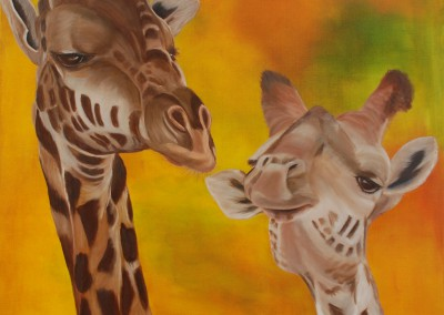 Giraffen naar Ben